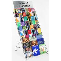 10-Tiered Wire Magazine Display Racks With Exhibition Hall Manufactures