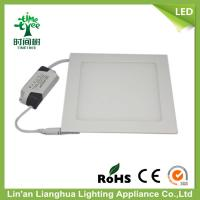 Ultr - Slim Aluminum 12w LED Square Panel Light With 85 - 265V 960lm Lumen Manufactures
