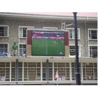 China 12 Sport Wall Mounted Outdoor Full Color Led Display ,Epistar + silan Chip IP65 on sale