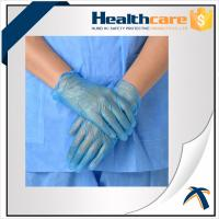 AQL1.5 PVC Disposable Hand Gloves ,  Powder Free Vinyl Medical Gloves Manufactures