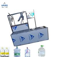 SS 304 Food Grade 5 Gallon Water Bottle Filling Machine PLC Control 2200 *2000 * 2200 Mm Manufactures