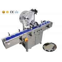 China Self Adhesive Sheet Label Applicator Machine Delta Servo Motor High Accuracy on sale