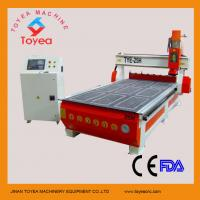Automatic tool changer wood cnc router with 8 knives stores TYE-25H Manufactures
