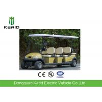 48V / 4KW DC Motor Electric 8 Seater Golf Buggy Battery Operated Curtis Controller Manufactures