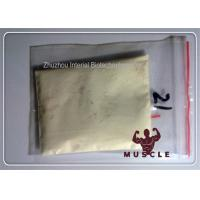 Pharma Grade Tren Anabolic Steroid Trenbolone Enanthate / Trenbolic 100 Yellow Liquid Injection Manufactures