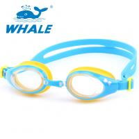 Customized Silicone Swimming Goggles Sturdy One - Piece Structure For Children Manufactures