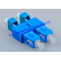 Hybrid SC - LC Fiber Optic Adapter , Telecom Network Male To Female Adapter Manufactures