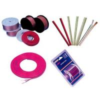 OFC Transparent Electric Wire Cable copper speaker wire Red stripe Manufactures