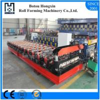 Galvanized Sheet Metal Roll Forming Machines, ISO Roof Roll Forming Machine Manufactures