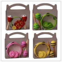 Colorful Kids Musical Instrument , Customized Percussion Toy Set Manufactures