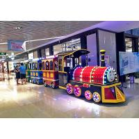 Fiberglass Shopping Mall Train Electric Ride On Train For Kids 18 Seat Manufactures
