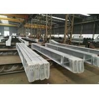Fast Construction Industrial Steel Frame Buildings , Durable Steel Frame Office Building Manufactures