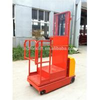 Quality Ac Motor Full Electric Order Picker Forklift With 200kg Lifting 600 X 640mm Platform Size for sale