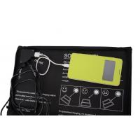 Waterproof 20watt Outdoor Foldable Solar Charger Bag for Laptop / Cell Phone Manufactures