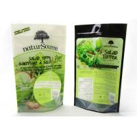 Reusable Smell Proof Stand Up Ziplock Bags , Stand Up Pouches For Food Packaging Manufactures