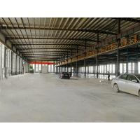 Modern Steel Structure Factory Building With Mezzanine Metal Workshop Construction Manufactures