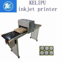 Printing 120000 Eggs / H Egg Stamping Machine For Bar Code Or Graphic LOGO Manufactures