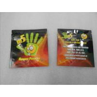 China California Dream Herbal Incense Packaging Flat Zipper Pouches Chemical Pill THC Sachet on sale