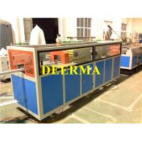 Quality Extruded Plastic Profile Production Line For Double Tracks Sliding Window Profiles for sale