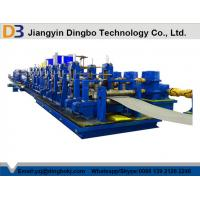 DB219 HF Straight Seam Welded Tube Mill Line , Metal Tube & Rolling Mills Manufactures
