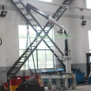 6M Remote Control Telescopic Knuckle Boom Crane Offshore Manufactures