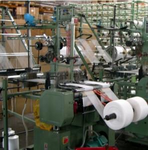 High speed gauze bandage weaving machine / gauze bandage loom machine Manufactures