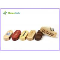 Swivel USB 3.0 Flash Drive , small wooden usb drive logo FOR Gift Manufactures