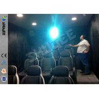 9 Seats Mobile Movie Theater Black With Metal Flat Screen Manufactures