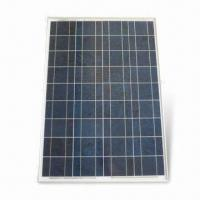 Polycrystalline Solar Panel with Rated Voltage of 80W and Water-resistant Junction Box Manufactures