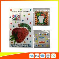Colorful Custom Printed Ziplock Bags Recyclable For Cosmetic / Food Packing Manufactures