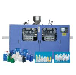 China HDPE Yoghurt Bottle Milk Bottle Blowing Machine , Plastic Bottle Production Machine on sale