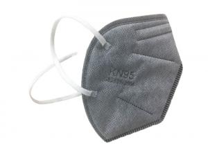 Foldable Grey Valved Air Pollution KN95 Dustproof Mask Manufactures