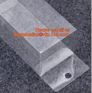 China Mobile Phone Case plastic Packaging Box, Custom Foldable Waterproof Small Rectangular Plastic Transparent Box/Clear Plas on sale