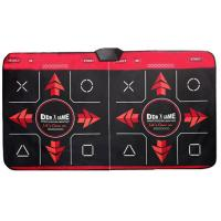Red USB Game Duet Plug And Play Dance Mat / Pad , Thickness 8mm Manufactures
