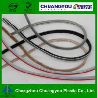 China Extrusion EPDM Rubber Seal Strip / Wooden Door Brush Seal Strips on sale