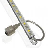 3.8W 48PCS 3528 SMD Waterproof Aluminum PCB Warm White Mounting Clips Rigid LED Light Bars Manufactures