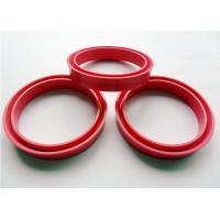 Round Flat Custom Silicone Parts O Ring Seal With Good Electrical Insulation Properties Manufactures