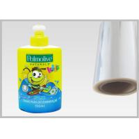 China Eco Friendly 45 Mic PETG Film , High - Shrink Film Packaging For Bottle Sleeves on sale