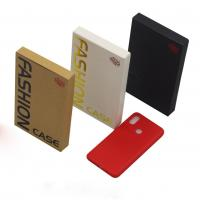 Embossed Printing Cell Phone Accessories Packaging , Mobile Cover Packaging Box Manufactures