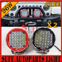 9 inch 96W CREE LED Driving Light 4X4 4wd offroad led truck work light 12v 24v for JEEP Manufactures