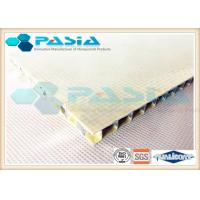 China Customized Size FRP Honeycomb Panel , Honeycomb Structural Panels Anti Weather on sale