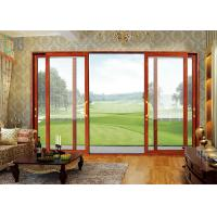 Europe Fashion Aluminium Sliding Doors Waterproof With Tempered Glass Manufactures
