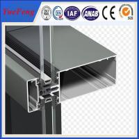 New! china construction aluminum extrusion, curtain wall aluminium profiles Manufactures