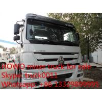 SINO TRUK HOWO  High Efficient 6x4 high capacity concrete mixer trucks for sale Manufactures