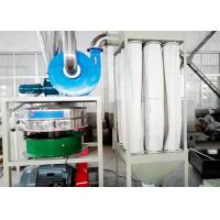High Speed PVC Plastic Milling Machine Wind Conveying 100 Mush 3700rpm Manufactures