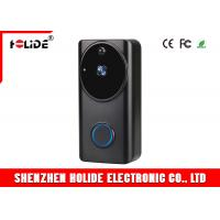 Front Door Security Wireless Doorbell Camera WiFi Connection Battery Operated IP65 Manufactures
