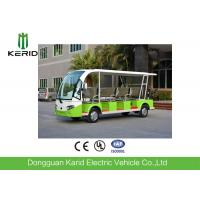 11 Passengers Electric Tourist Bus With Curtis Controller For Hotel Reception Manufactures