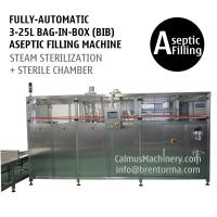 Fully-automatic 3-25L BIB Aseptic Filling System WEB Type Bag in Box Aseptic Filler Manufactures