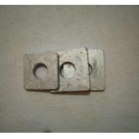 Metric Square Steel Washers , Industrial Galvanised Square Washers DIN 125 Manufactures