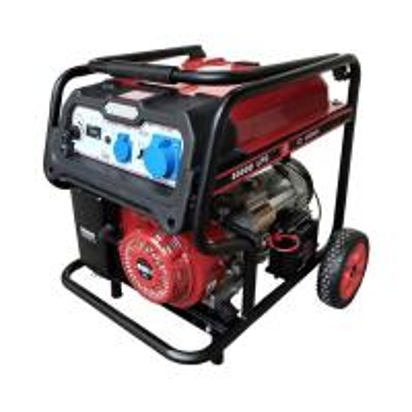 Quality Natural Gas LPG Petrol Triple Fuel Generator for sale